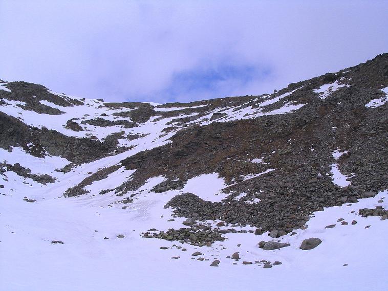 Foto: Andreas Koller / Wander Tour / Über die Pilsbergalm auf den Soyspitz (3030 m) / Die Soyscharte / 17.06.2008 17:19:40