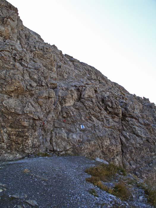 Foto: vince 51 / Wander Tour / Von Lech auf die Rüfispitze / Einstieg in den felsigen Teil des Aufstiegs / 19.06.2008 23:52:01
