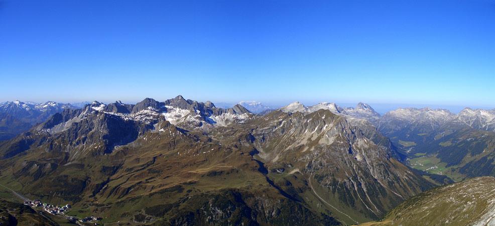Foto: vince 51 / Wander Tour / Von Lech auf die Rüfispitze / Lechquellengebirge / 19.06.2008 23:49:25