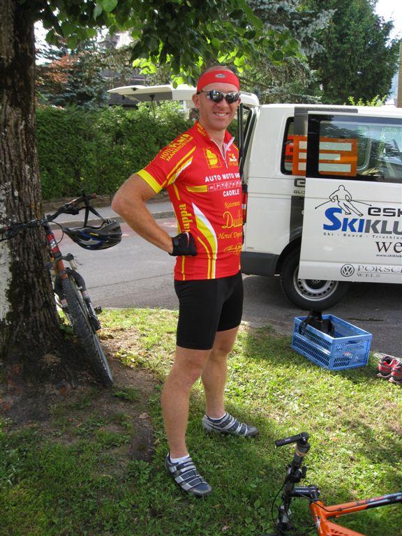 Foto: Jürgen Lindlbauer / Mountainbike Tour / Von Windischgarsten über Spital a. Pyhrn auf den Hengstpaß / Max der Poser. / 22.06.2008 20:39:37