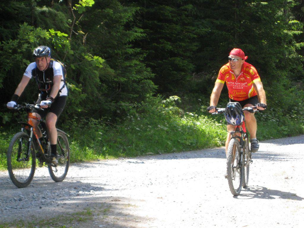 Foto: Jürgen Lindlbauer / Mountainbike Tour / Von Windischgarsten über Spital a. Pyhrn auf den Hengstpaß / Die letzten Meter zur Pramfelder Reith. / 22.06.2008 20:32:19