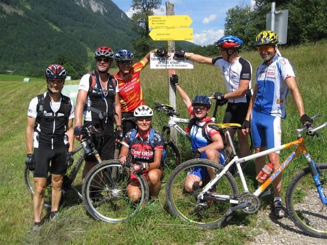 Foto: Jürgen Lindlbauer / Mountainbike Tour / Von Windischgarsten über Spital a. Pyhrn auf den Hengstpaß / Am Ende des Wandersweg rund um den Wurberg in der Nähe von Spital a. Pyhrn. / 22.06.2008 20:35:57