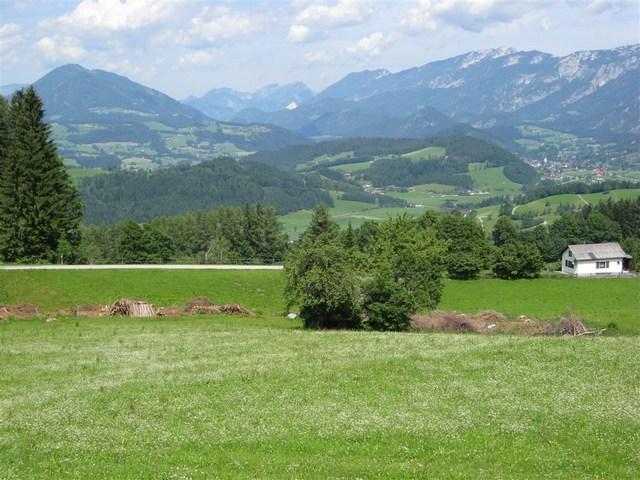 Foto: Jürgen Lindlbauer / Mountainbike Tour / Von Windischgarsten über Spital a. Pyhrn auf den Hengstpaß / Blick von Oberweng Richtung Windischgarsten. / 22.06.2008 20:34:17