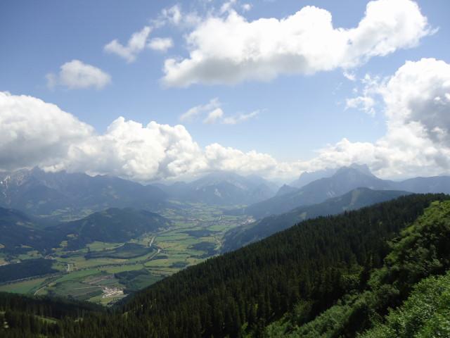 Foto: Günter Siegl / Wander Tour / Dürrenschöberl - Überschreitung / Ennstal / 28.06.2013 21:40:24