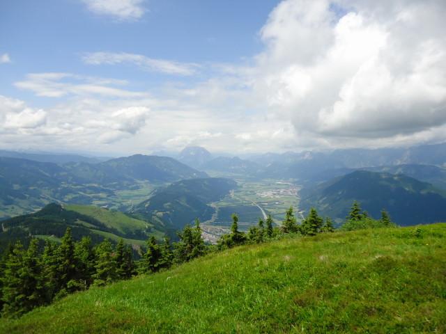 Foto: Günter Siegl / Wander Tour / Dürrenschöberl - Überschreitung / Blick zum Grimming / 28.06.2013 21:39:53