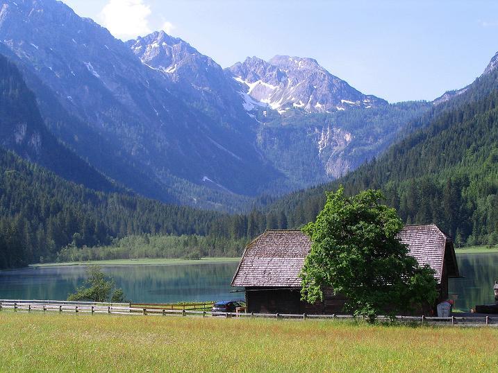 Foto: Andreas Koller / Wander Tour / Tappenkarseehütte - Weißgrubenkopf - Franz Fischerhütte (2369m) / Der Jägersee im Kleinarltal / 24.06.2008 16:34:03