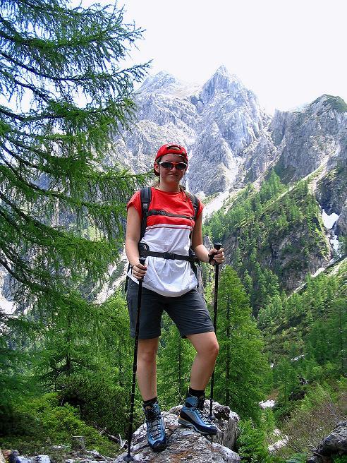 Foto: Andreas Koller / Wander Tour / Tappenkarseehütte - Weißgrubenkopf - Franz Fischerhütte (2369m) / Kurz unterhalb des Tappenkarsees / 24.06.2008 16:32:39
