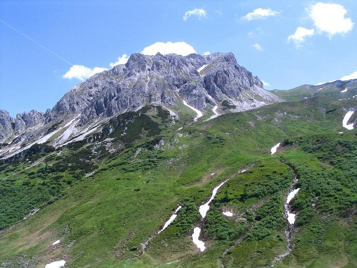 Foto: Andreas Koller / Wander Tour / Tappenkarseehütte - Weißgrubenkopf - Franz Fischerhütte (2369m) / Der Weißgrubenkopf / 24.06.2008 16:30:44