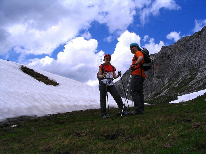 Foto: Andreas Koller / Wander Tour / Tappenkarseehütte - Weißgrubenkopf - Franz Fischerhütte (2369m) / Unterhalb der Weißgrubenscharte / 24.06.2008 16:28:01