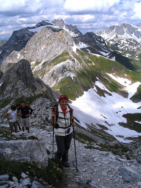 Foto: Andreas Koller / Wander Tour / Tappenkarseehütte - Weißgrubenkopf - Franz Fischerhütte (2369m) / Anstieg aus der Weißgrubenscharte / 24.06.2008 16:23:16