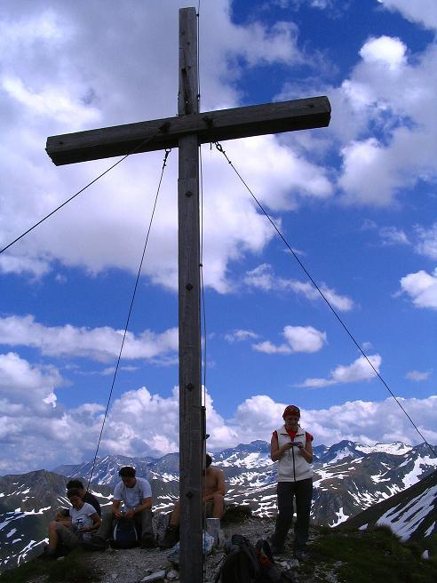 Foto: Andreas Koller / Wander Tour / Tappenkarseehütte - Weißgrubenkopf - Franz Fischerhütte (2369m) / Weit reicht der Blick vom Weißgrubenkopf / 24.06.2008 16:22:57
