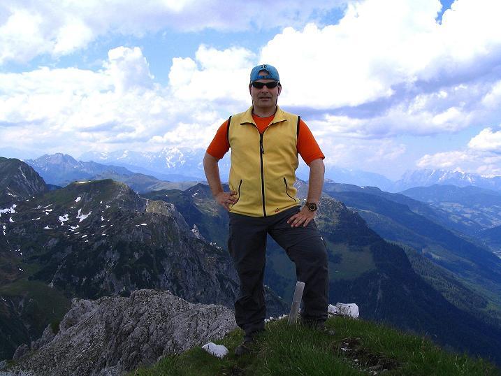 Foto: Andreas Koller / Wander Tour / Tappenkarseehütte - Weißgrubenkopf - Franz Fischerhütte (2369m) / Am Weißgrubenkopf / 24.06.2008 16:21:50