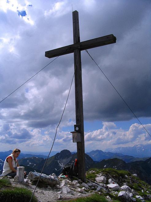 Foto: Andreas Koller / Wander Tour / Tappenkarseehütte - Weißgrubenkopf - Franz Fischerhütte (2369m) / Gipfelrast am Weißgrubenkopf / 24.06.2008 16:20:22