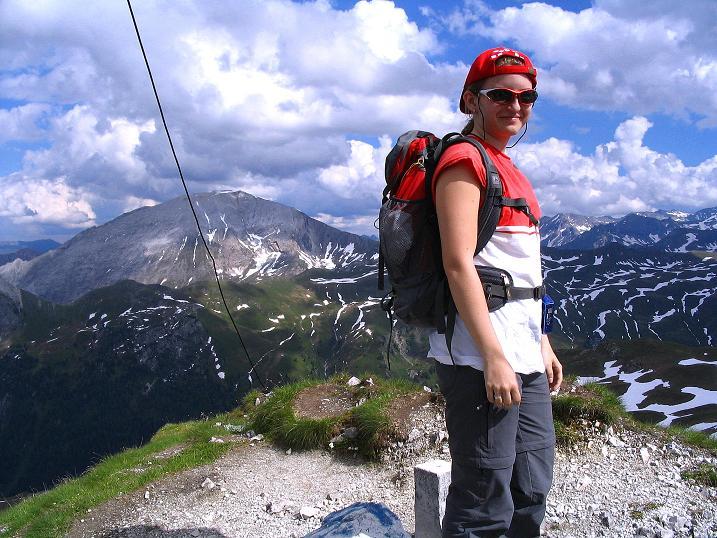 Foto: Andreas Koller / Wander Tour / Tappenkarseehütte - Weißgrubenkopf - Franz Fischerhütte (2369m) / Abschied vom Gipfel / 24.06.2008 16:19:48