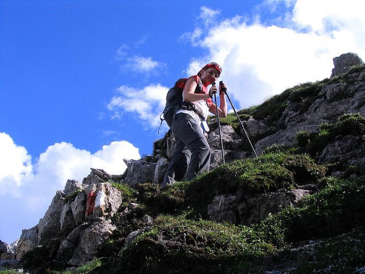 Foto: Andreas Koller / Wander Tour / Tappenkarseehütte - Weißgrubenkopf - Franz Fischerhütte (2369m) / Felsiges Gelände am Weißgrubenkopf / 24.06.2008 16:19:29