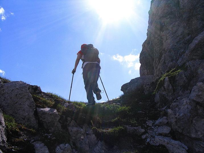 Foto: Andreas Koller / Wander Tour / Tappenkarseehütte - Weißgrubenkopf - Franz Fischerhütte (2369m) / Abstieg vom Weißgrubenkopf / 24.06.2008 16:19:08