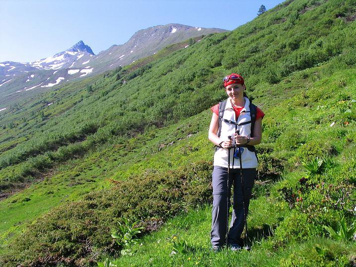 Foto: Andreas Koller / Wander Tour / Glingspitze und Rifflgrat (2433 m) / Bei der Tappenkarseehütte mit Blick ins Tappenkar / 24.06.2008 18:14:53