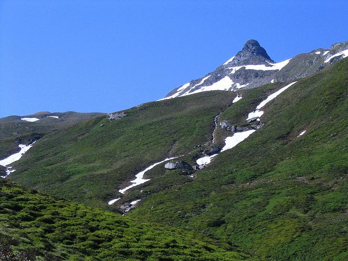 Foto: Andreas Koller / Wander Tour / Glingspitze und Rifflgrat (2433 m) / Alles überragend: die Glingspitze / 24.06.2008 18:13:18