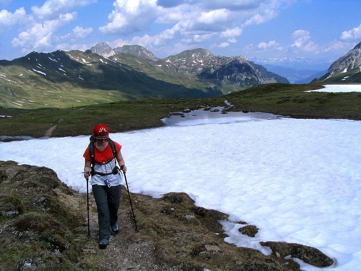 Foto: Andreas Koller / Wander Tour / Glingspitze und Rifflgrat (2433 m) / Anstieg zum Hasenstein / 24.06.2008 18:12:00