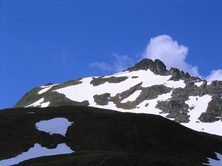 Foto: Andreas Koller / Wander Tour / Glingspitze und Rifflgrat (2433 m) / Licht und Schatten auf der Glingspitze / 24.06.2008 18:10:58