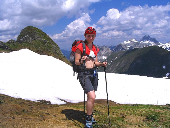 Foto: Andreas Koller / Wander Tour / Glingspitze und Rifflgrat (2433 m) / Beim Vorgipfel / 24.06.2008 18:09:19