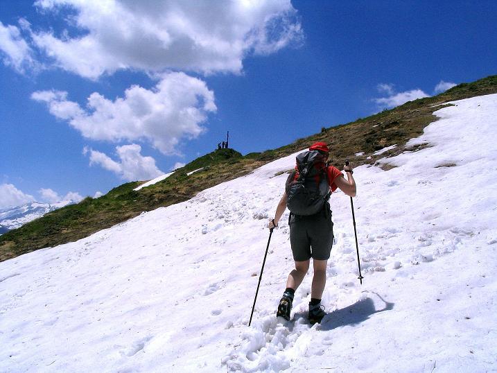 Foto: Andreas Koller / Wander Tour / Glingspitze und Rifflgrat (2433 m) / Zum Greifen nahe der Glingspitz-Gipfel / 24.06.2008 18:08:59