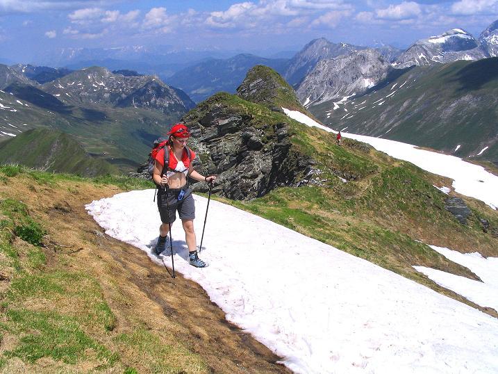 Foto: Andreas Koller / Wander Tour / Glingspitze und Rifflgrat (2433 m) / Die letzten Meter zum Gipfel / 24.06.2008 18:08:36