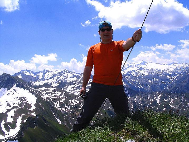 Foto: Andreas Koller / Wander Tour / Glingspitze und Rifflgrat (2433 m) / Weitreichender Blick von der Glingspitze / 24.06.2008 18:08:14