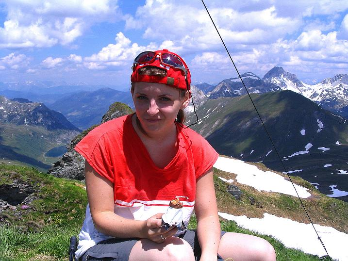 Foto: Andreas Koller / Wander Tour / Glingspitze und Rifflgrat (2433 m) / Glingspitze und Blick ins Tappenkar / 24.06.2008 18:07:18
