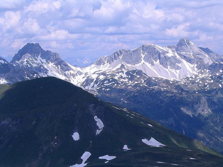 Foto: Andreas Koller / Wander Tour / Glingspitze und Rifflgrat (2433 m) / Faulkogel (2654 m) und Mosermandl (2680 m) / 24.06.2008 18:06:49
