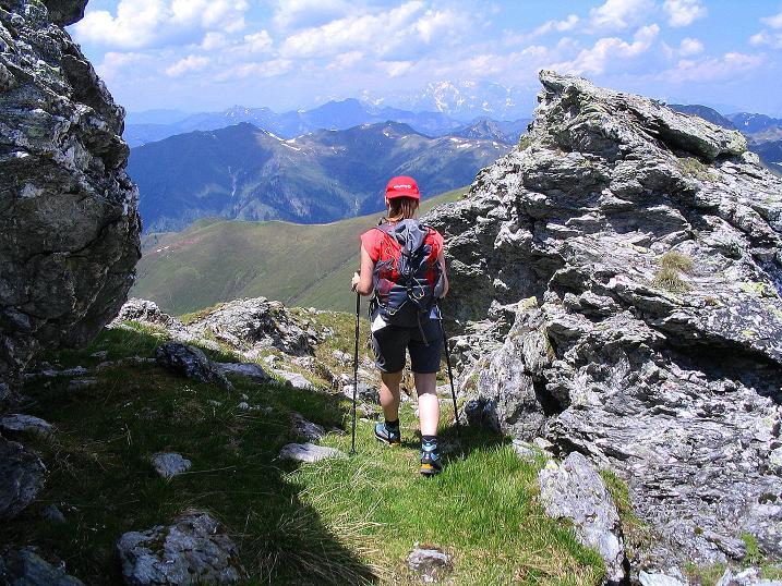 Foto: Andreas Koller / Wander Tour / Glingspitze und Rifflgrat (2433 m) / Am Glingspitz N-Grat / 24.06.2008 18:05:03