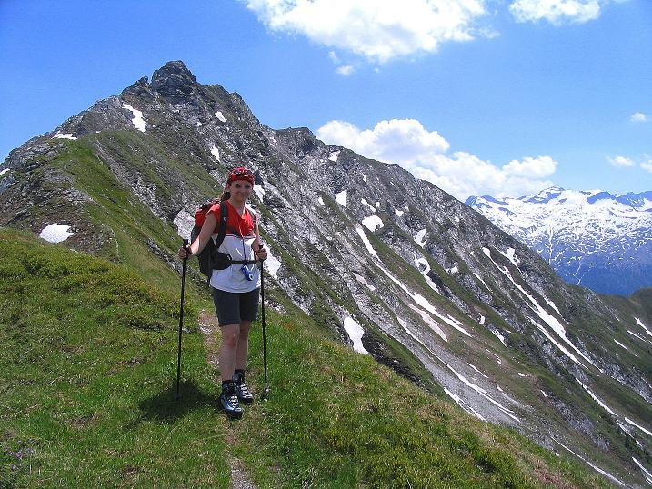 Foto: Andreas Koller / Wander Tour / Glingspitze und Rifflgrat (2433 m) / Auf der Riffl / 24.06.2008 18:02:56