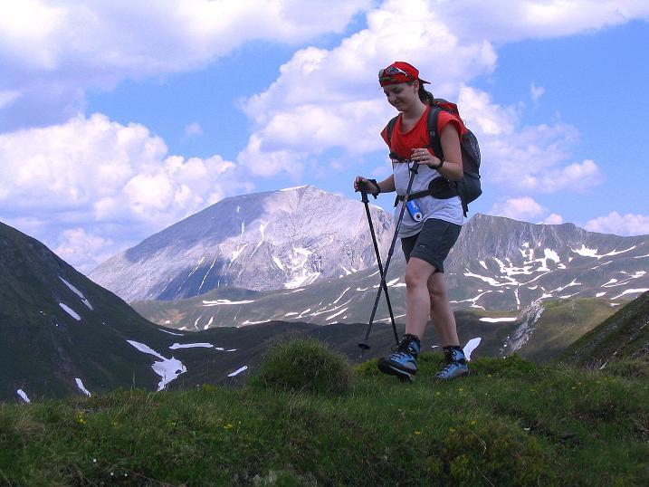 Foto: Andreas Koller / Wander Tour / Glingspitze und Rifflgrat (2433 m) / Im Glettentörl gegen Weißeck (2711 m) / 24.06.2008 17:59:32