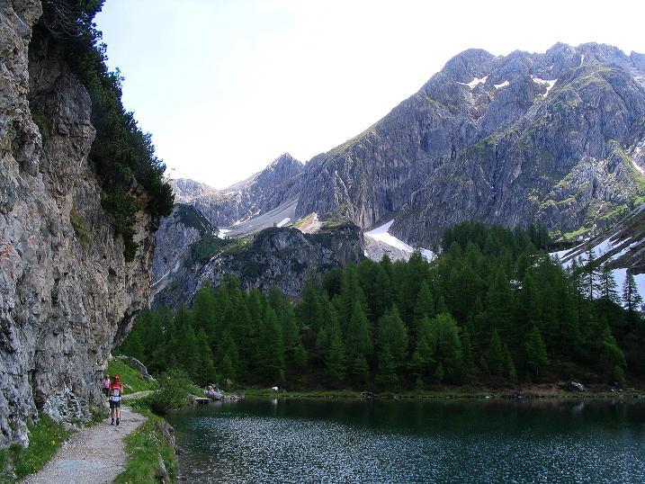 Foto: Andreas Koller / Wander Tour / Glingspitze und Rifflgrat (2433 m) / Am Tappenkarsee / 24.06.2008 18:16:40