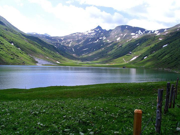 Foto: Andreas Koller / Wander Tour / Glingspitze und Rifflgrat (2433 m) / Tappenkarsee und Glingspitze / 24.06.2008 18:15:51