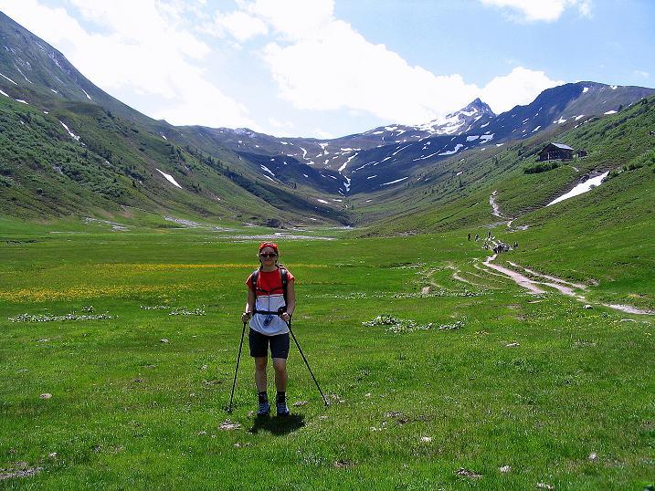 Foto: Andreas Koller / Wander Tour / Glingspitze und Rifflgrat (2433 m) / Das weite Tappenkar / 24.06.2008 18:15:30