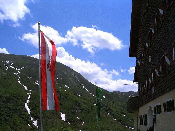 Foto: Andreas Koller / Wander Tour / Glingspitze und Rifflgrat (2433 m) / Bei der Tappenkarseehütte / 24.06.2008 18:15:18