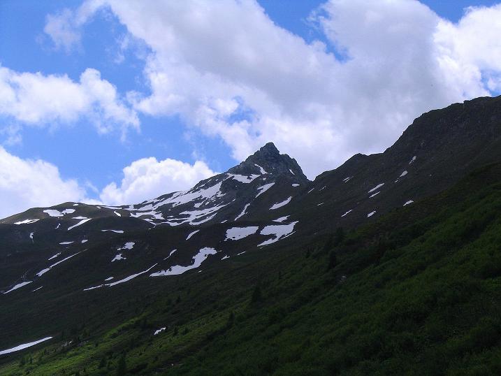 Foto: Andreas Koller / Wander Tour / Glingspitze und Rifflgrat (2433 m) / Die Glingspitze / 24.06.2008 18:15:05