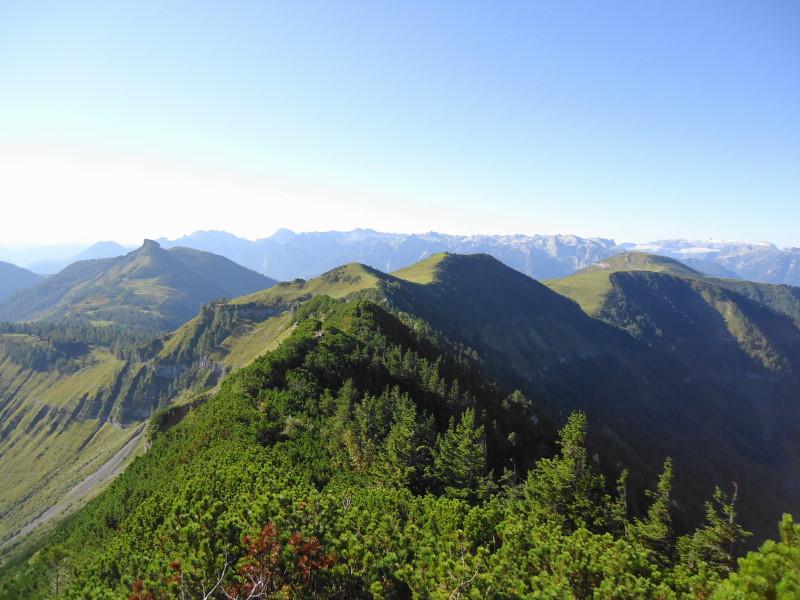 Foto: Günter Siegl / Wander Tour / Genner - Runde / Gratverlauf zu Dürlstein und Hoher First / 26.09.2014 18:36:22