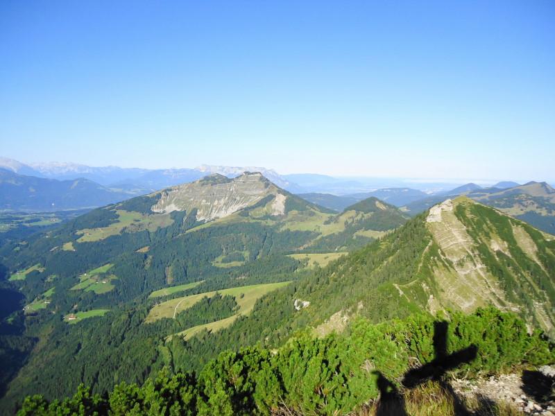 Foto: Günter Siegl / Wander Tour / Genner - Runde / Blick zu Schmittenstein und Schlenken / 26.09.2014 18:36:58