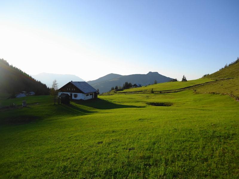 Foto: Günter Siegl / Wander Tour / Genner - Runde / Hintertrattbergalm / 26.09.2014 18:37:58