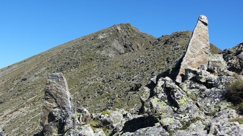 Foto: kathy120385 / Wander Tour / Von Lessach über den Lachriegel auf die Golzhöhe / ab dem Lachriegel endet die Markierung und nur