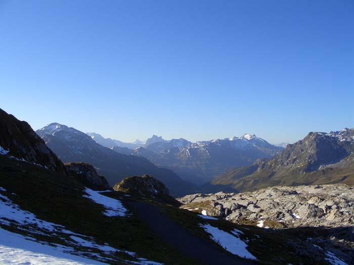 Foto: vince 51 / Wander Tour / Von Lech auf die drei Wösterspitzen / Blick zur Verwall-Gruppe / 01.08.2008 22:45:22