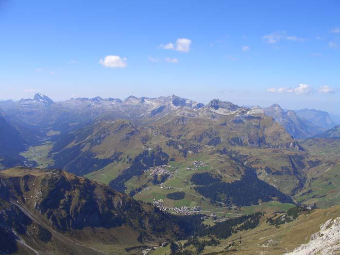 Foto: vince 51 / Wander Tour / Von Lech auf die drei Wösterspitzen / Lechquellengebirge / 01.08.2008 22:40:03