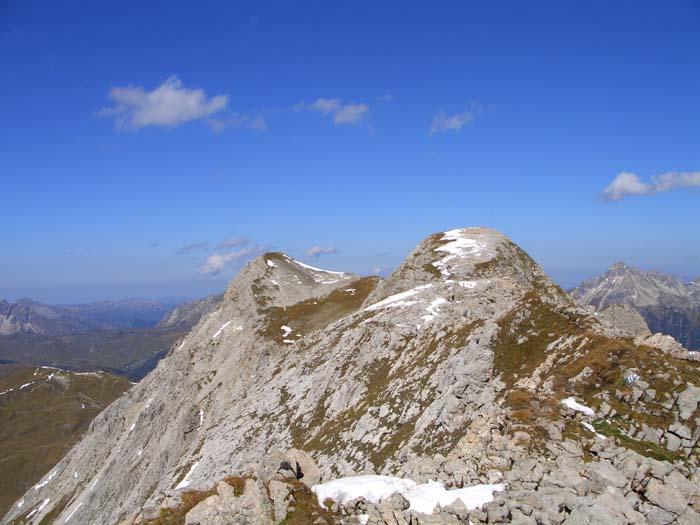 Foto: vince 51 / Wander Tour / Von Lech auf die drei Wösterspitzen / Mittl. und hint. Wösterspitze / 01.08.2008 22:34:48