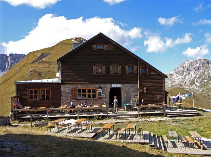 Foto: vince 51 / Wander Tour / Von Lech auf die drei Wösterspitzen / Stuttgarter Hütte / 01.08.2008 22:33:05