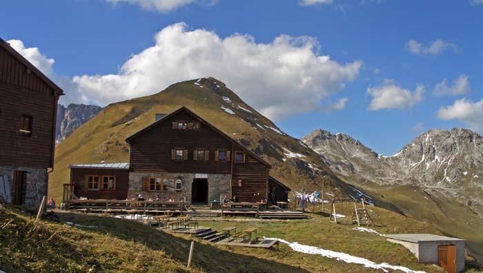 Foto: vince 51 / Wander Tour / Von Lech auf die drei Wösterspitzen / Stuttgarter Hütte / 01.08.2008 22:32:51
