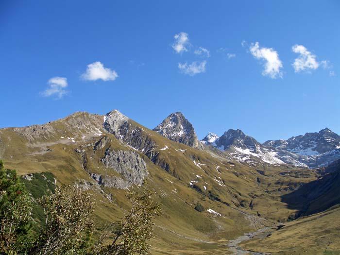 Foto: vince 51 / Wander Tour / Von Lech auf die drei Wösterspitzen / Rüfispitze / 01.08.2008 22:31:59