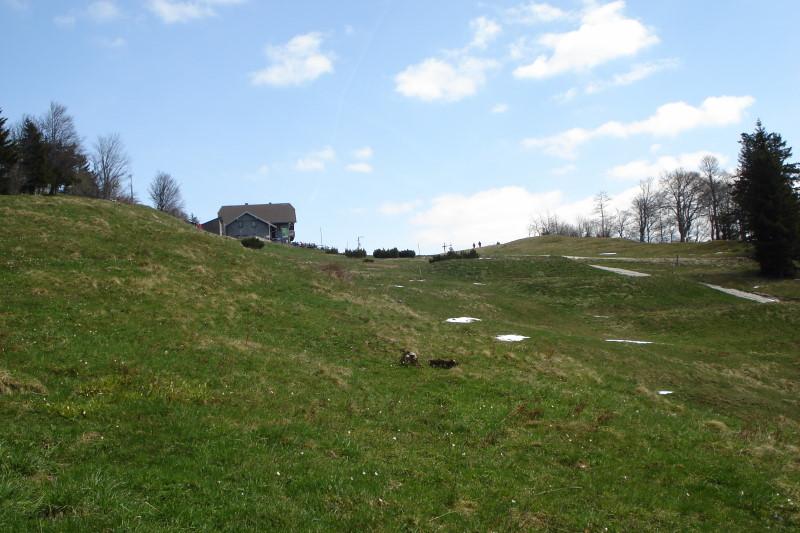 Foto: Günter Siegl / Wander Tour / Über den Schinder auf den Schoberstein / Schobersteinhütte. / 18.04.2011 09:52:32