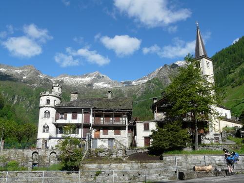 Foto: Karl Mätzler / Wander Tour / Grande Traversata delle Alpi (GTA), Etappe 5, Alpe Baranca - Carcoforo / Carcoforo / 15.07.2008 23:45:45